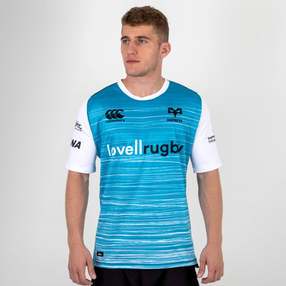 Canterbury Ospreys 2018/19 Alternativa M/C Pro - Camiseta de Rugby