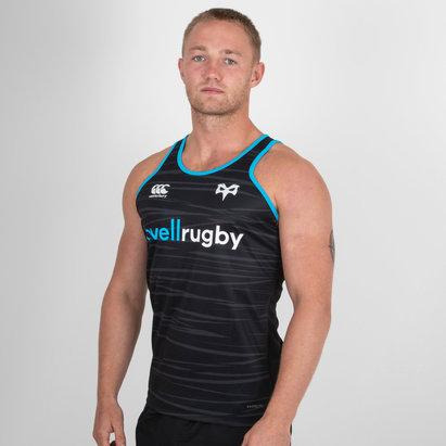 Canterbury Ospreys 2018/19 Players Poly Rugby - Camiseta de Tirantes Entrenamiento