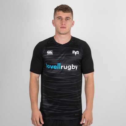 Canterbury Ospreys 2018/19 Players Superlight Rugby - Camiseta de Entrenamiento