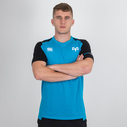 Canterbury Ospreys 2018/19 Performance Algodón Rugby - Camiseta