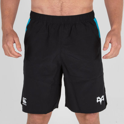 Canterbury Ospreys 2018/19 Players Woven Rugby Gym - Shorts de Entrenamiento