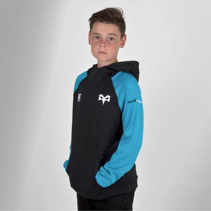 Canterbury Ospreys 2018/19 Niños Hybrid Rugby - Sudadera con Capucha