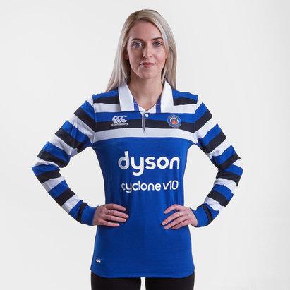 Canterbury Bath 2018/19 Home Mujer M/L Clásica - Camiseta de Rugby