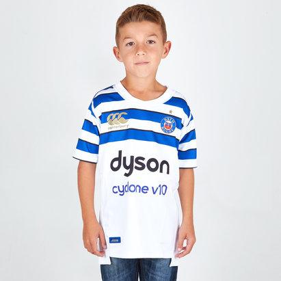 Canterbury Bath 2018/19 Niños Alternativa M/C Pro - Camiseta de Rugby