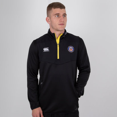 Canterbury Bath 2018/19 Players 1/4 Zip Rugby - Top de Entrenamiento