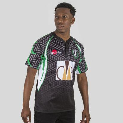 Samurai Nigeria 7s 2017/18 Alternativa M/C Réplica - Camiseta de Rugby