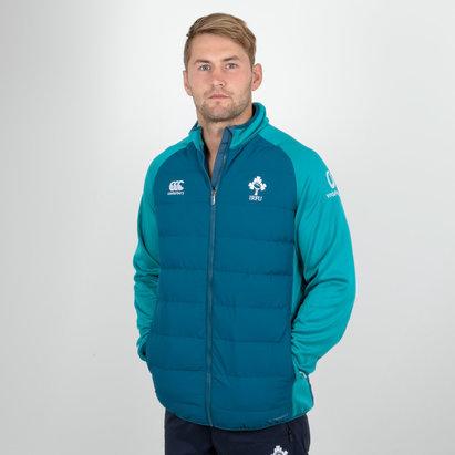 Canterbury Irlanda IRFU 2018/19 Players Hybrid Rugby - Chaqueta