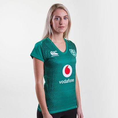 Canterbury Irlanda IRFU 2018/19 Mujer Home Pro M/C - Camiseta de Rugby