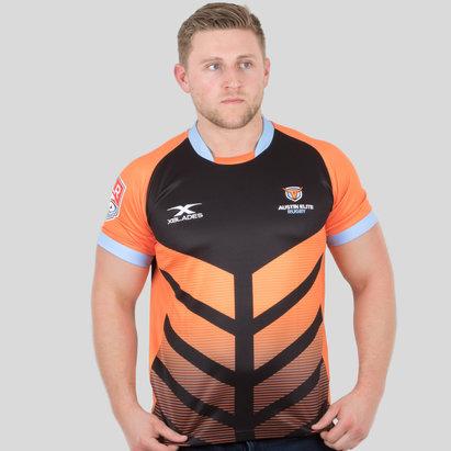 X Blades Austin Elite Rugby MLR 2018 Alternativa M/C - Camiseta de Rugby