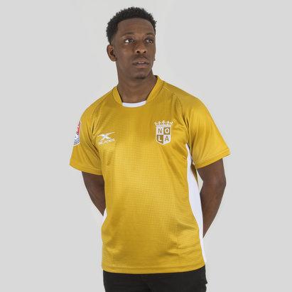 X Blades New Orleans Gold MLR 2018 Home M/C - Camiseta de Rugby