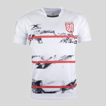 X Blades San Diego Legion MLR 2018 Alternativa M/C - Camiseta de Rugby