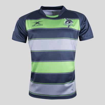 X Blades Seattle Seawolves MLR 2018 Home M/C - Camiseta de Rugby