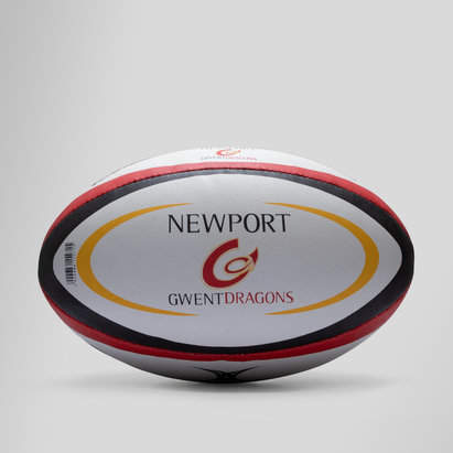 Gilbert Newport Gwent Dragons Oficial Réplica - Balón de Rugby