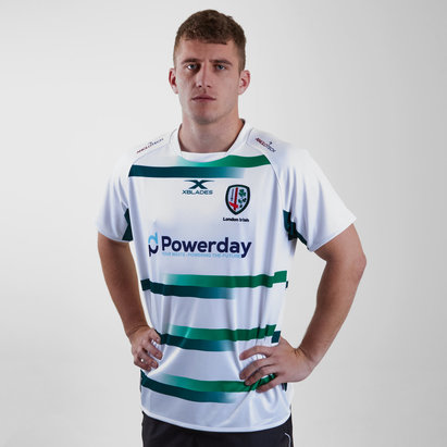 X Blades London Irish 2018/19 Alternativa M/C Réplica - Camiseta de Rugby