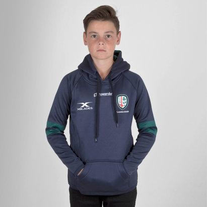 X Blades London Irish 2018/19 Niños Rugby - Sudadera con Capucha