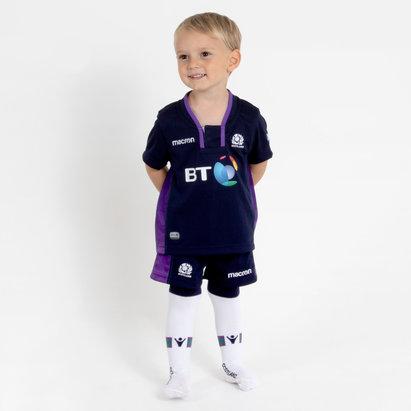 Macron Escocia 2018/19 Home Niños Pequeños - Equipación de Rugby