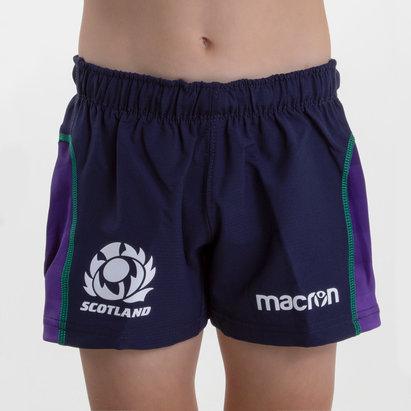 Macron Escocia 2018/19 Niños Home - Shorts de Rugby