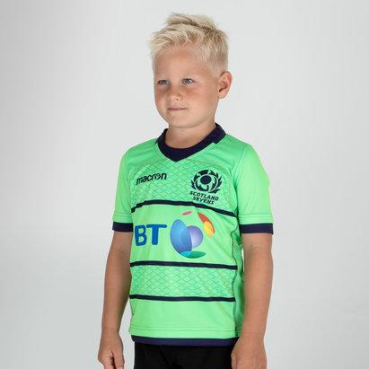 Macron Escocia 7s 2018/19 NiñosAlternativa M/C Réplica - Camiseta de Rugby