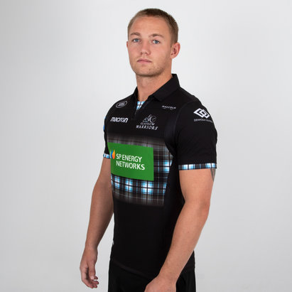 Macron Glasgow Warriors 2018/19 Home Test Camiseta de Rugby