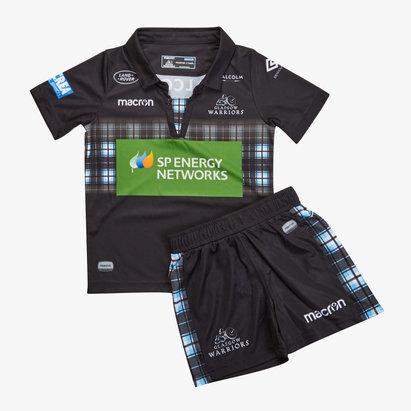 Macron Glasgow Warriors 2018/19 Kit de Rugby para Niños