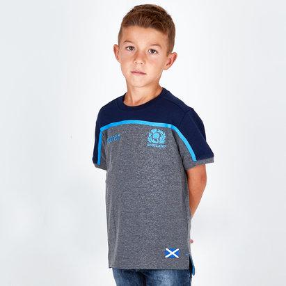 Macron Escocia 2018/19 Camiseta de Rugby De Viaje para Niños