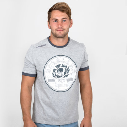 Macron Escocia 2018/19 Camiseta de Viaje de Rugby
