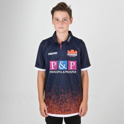 Macron Edinburgh 2018/19 Camiseta de Rugby Pro para Niños