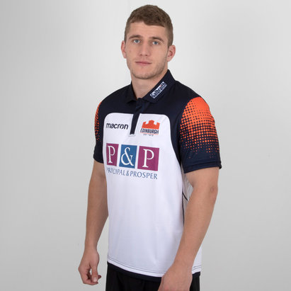 Macron Edinburgh 2018/19 Camiseta de Rugby Alternativa