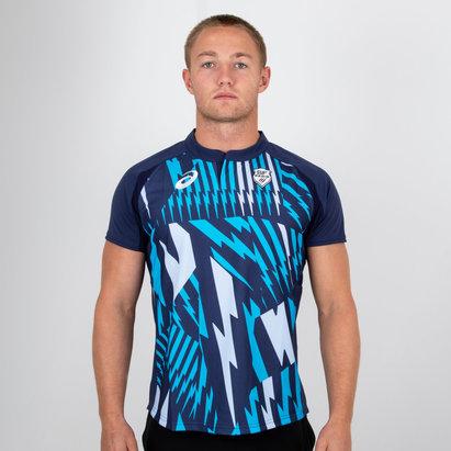 Asics Stade Francais 2018/19 Camiseta de Rugby