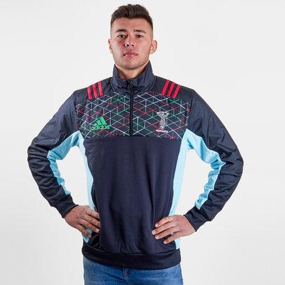 adidas Harlequins 2018/19 Chaqueta con Cierre de Rugby
