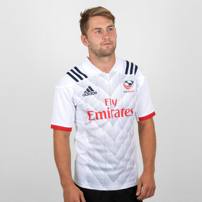 adidas USA Eagles 2018 Replica Home Camiseta de Rugby