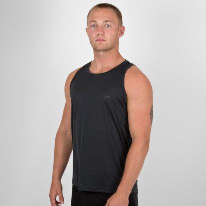 adidas Nueva Zelanda All Blacks 2018/19 Lux Camiseta Sin Mangas de Aficionado de Rugby