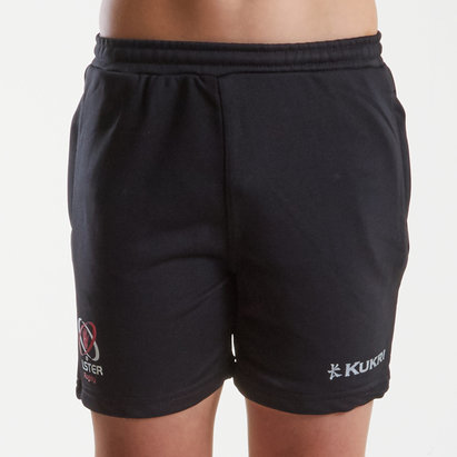 Kukri Ulster 2018/19 Shorts de Entrenamiento de Rugby Adolescente