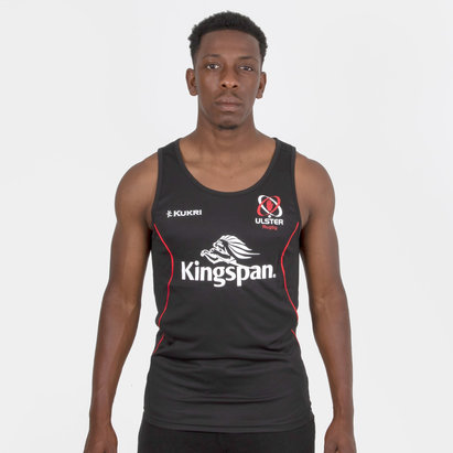 Kukri Ulster 2018/19 Camiseta Performance sin Mangas de Entrenamiento de Rugby
