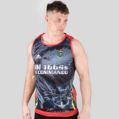 Kitworld Royal Marines 7's 2018/19 Camiseta sin mangas de Entrenamiento de Rugby
