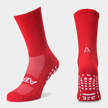 Atak Sports Shox Non Slip Mid Leg Grip Calcetines