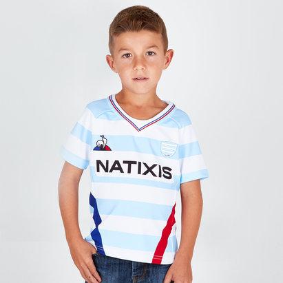 Le Coq Sportif Racing 92 2018/19 Replica Camiseta de Rugby para Niños