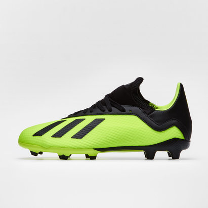 adidas X 18.3 FG - Botas de Fútbol