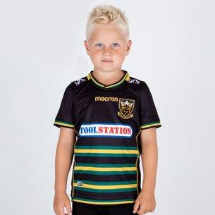 Macron Northampton Saints 2018/19 Home Replica Camiseta de Rugby para Niños