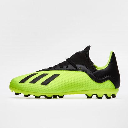 adidas X 18.3 AG - Botas de Fútbol para Niños