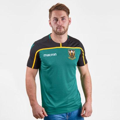 Macron Norhampton Saints 2018/19 T-Shirt de Entrenamiento de Rugby