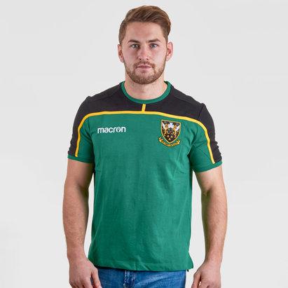 Macron Northampton Saints 2018/19 T-Shirt de Rugby de Viaje