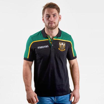 Macron Northampton Saints 2018/19 Polo de Rugby de Viaje