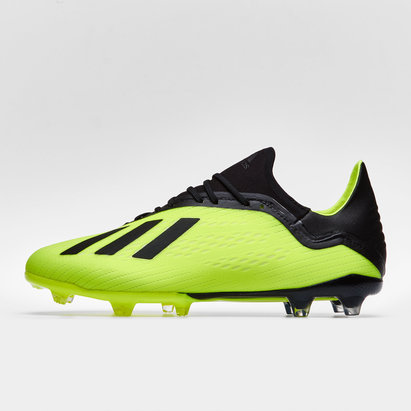 adidas X 18.2 FG - Botas de Fútbol