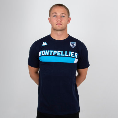 Kappa Montpellier 2018/19 Ambra T-Shirt de Rugby