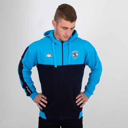 Kappa Montpellier 2018/19 Chaqueta de Rugby con Capucha