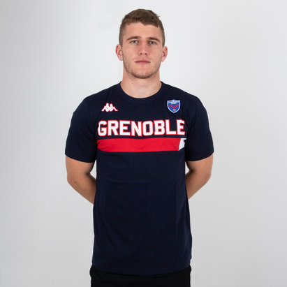 Kappa FC Grenoble 2018/19 Ambra Camiseta de Rugby