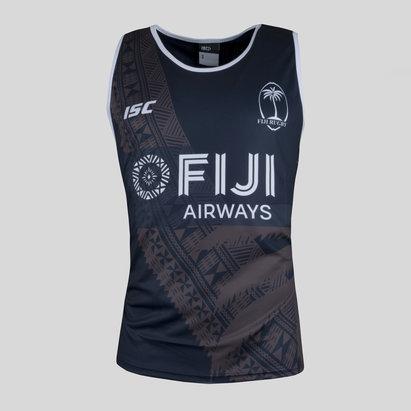 ISC Fiji 7s 2017/18 Players Camiseta de Rugby Sin Mangas