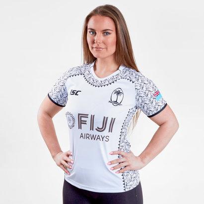 ISC Fiji 7s 2017/18 Home Camiseta de Rugby de Dama