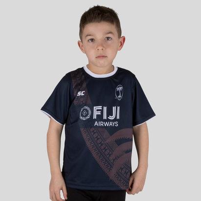 ISC Fiji 7s 2017/18 Camiseta de Entrenamiento de Rugby para Niños